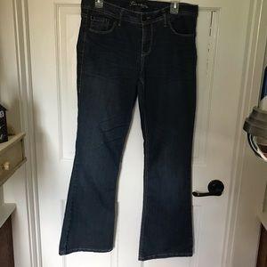 Torrid Source of Wisdom Bootleg Jeans size 12
